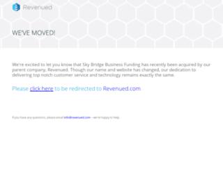 skybridgebusinessfunding.com screenshot