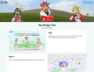 skybridgeclub.com screenshot