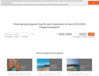 skycheck.com screenshot