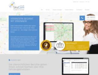 skycom.com screenshot