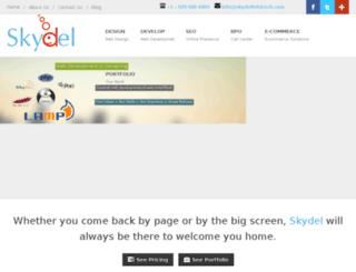 skydelinfotech.com screenshot