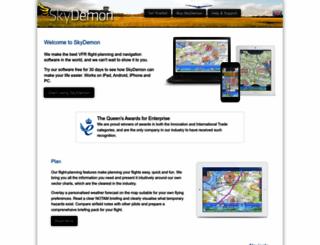 skydemon.com screenshot