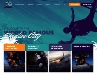 skydivecity.com screenshot