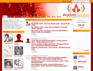 skydivernetwork.ning.com screenshot