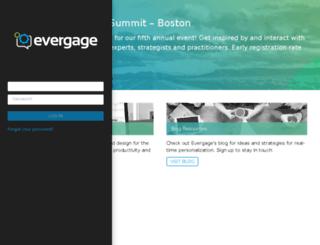 skyhighnetworks.evergage.com screenshot