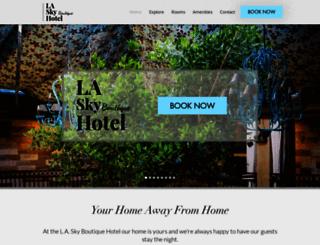 skyhotella.com screenshot