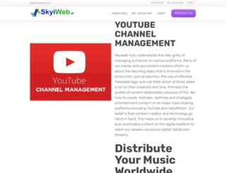 skyiweb.in screenshot