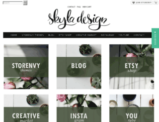 skyladesign.storenvy.com screenshot
