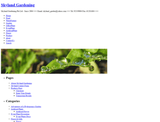 skylandgardening.com screenshot