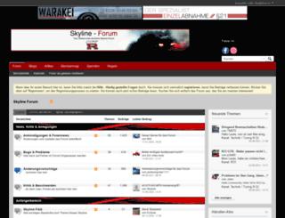 skyline-forum.de screenshot