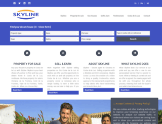 skyline-realestate.com screenshot