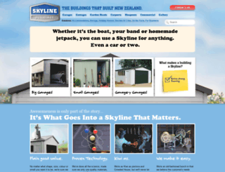 skylinebuildings.co.nz screenshot