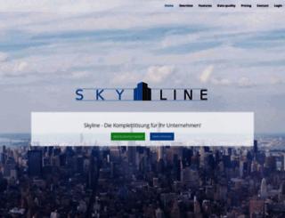 skylinecrm.at screenshot