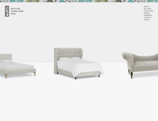 skylinefurnituremfg.com screenshot