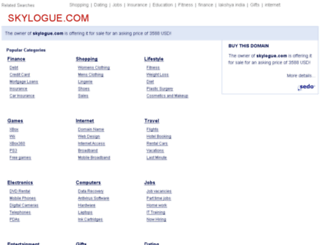 skylogue.com screenshot