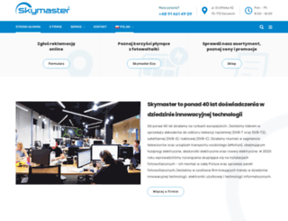 skymaster.de screenshot