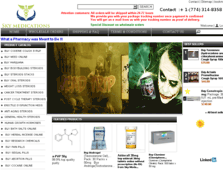 skymedication.com screenshot