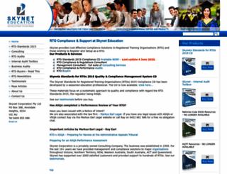skyneteducation.com.au screenshot