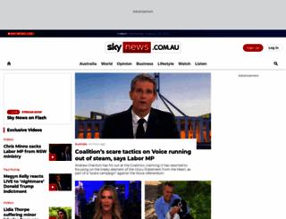 skynews.com.au screenshot