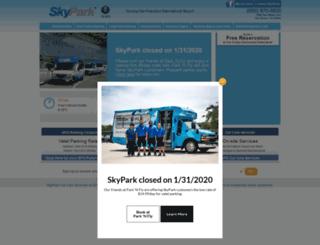 skypark.com screenshot