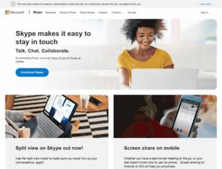 skype.com.ar screenshot