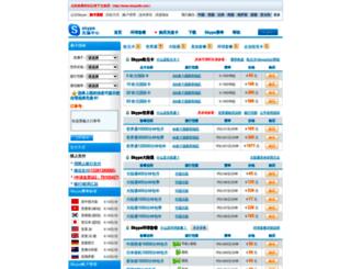 skypedk.com screenshot