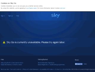 skyplayer.sky.com screenshot