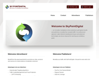 skypointdigital.com screenshot