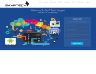 skyptech.com screenshot