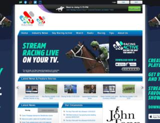 skyracing.com.au screenshot
