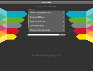 skyranchrestaurant.com screenshot