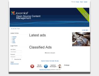 skyrock.zaghost.com screenshot