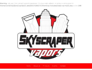 skyscrapervapors.com screenshot