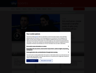 skysports.com screenshot