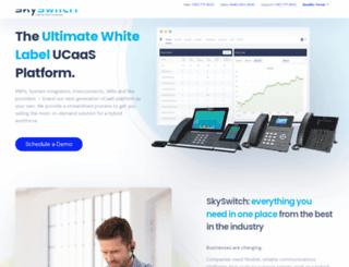 skyswitch.com screenshot