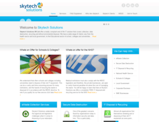 skytechsolutions.co.uk screenshot
