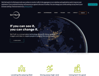 skytruth.org screenshot