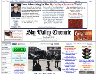 skyvalleychronicle.com screenshot