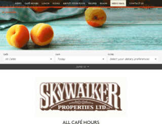 skywalker.cafebonappetit.com screenshot