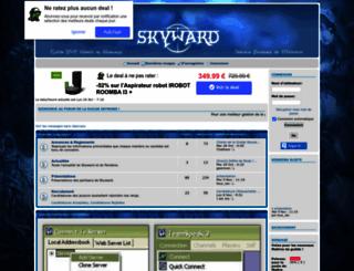 skyward.forumactif.org screenshot