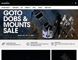 skywatcherusa.com screenshot