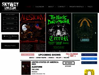 skywaytheater.com screenshot