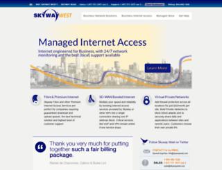 skywaywest.com screenshot