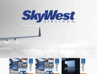 skywest.uberflip.com screenshot
