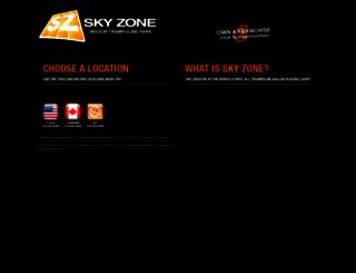 skyzonesports.com screenshot