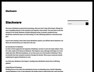 slackware.org screenshot