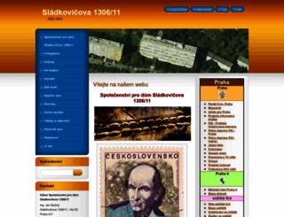 slad1306.webnode.cz screenshot