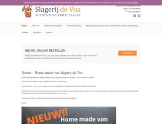 slagerijdevos.nl screenshot