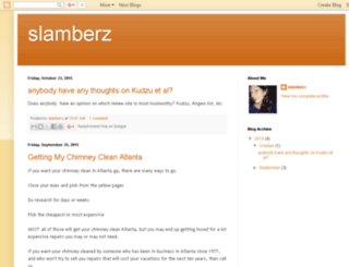 slamberz.blogspot.com screenshot