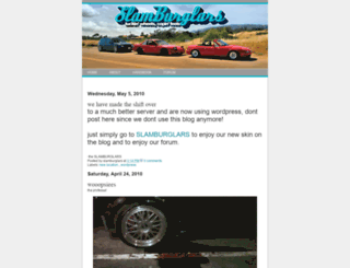 slamburglars.blogspot.com screenshot